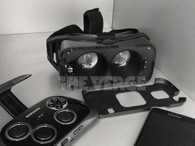 Gear VR : le casque de réalité virtuelle de Samsung en photo !