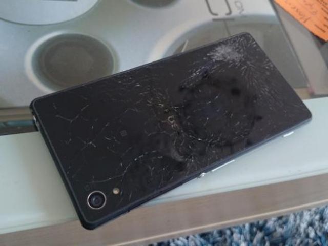 Sony Xperia Z2 dans un sale état