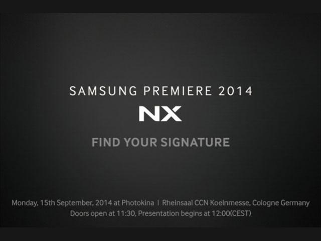 Teaser Samsung NX1 : image 1