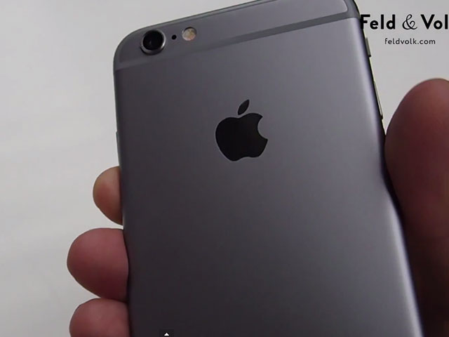 Vidéo iPhone 6 assemblé