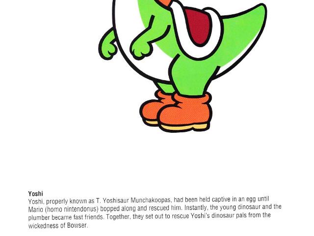 Le vrai nom de Yoshi