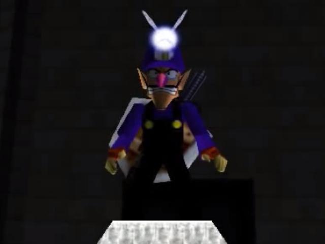 Waluigi dans Zelda Ocarina of Time