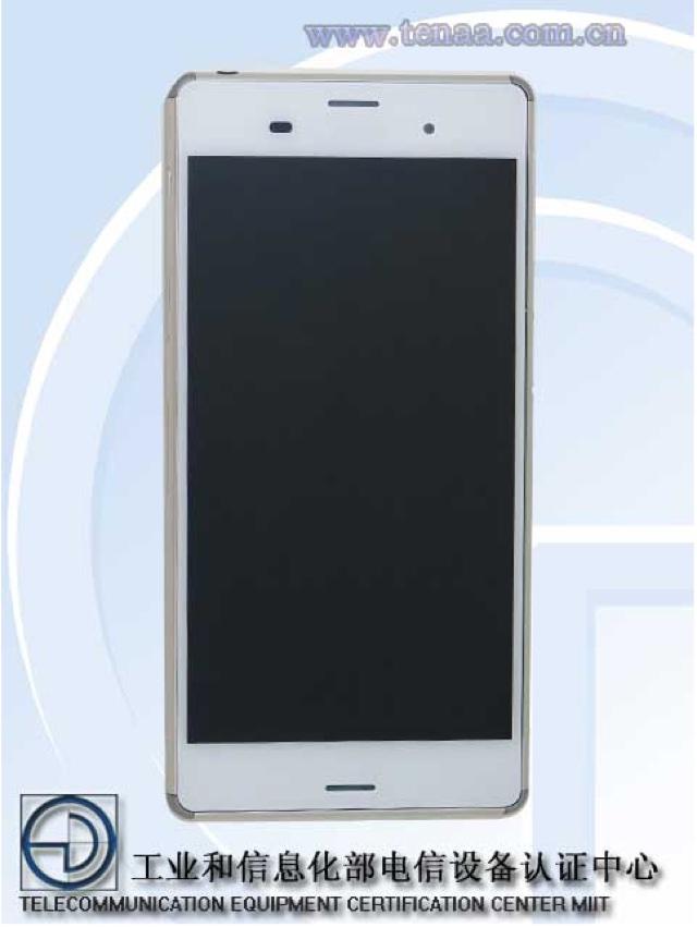 Sony Xperia Z3 TENAA : image 2
