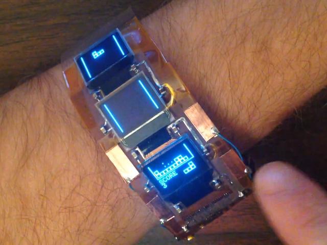 Le bracelet Tetris