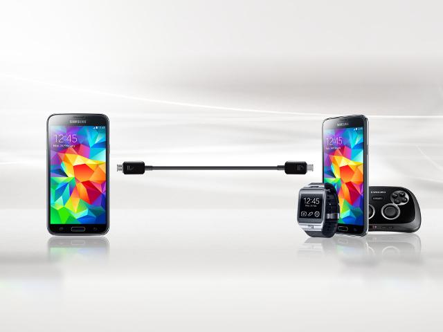 La câble de partage de charge de Samsung