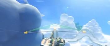 Les circuits de Mario Kart 8, en vue aérienne