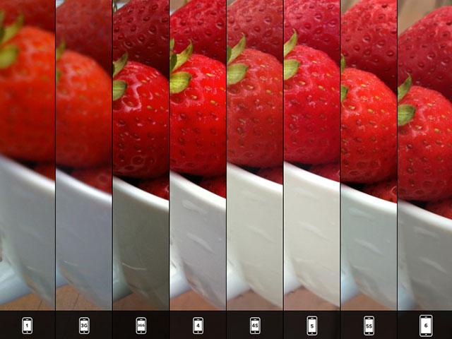 Comparatif photo iPhone 6