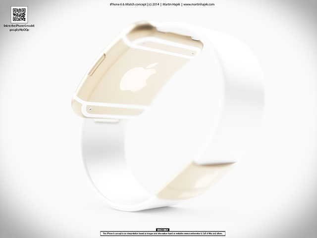 Concept iWatch Martin Hajek : image 4