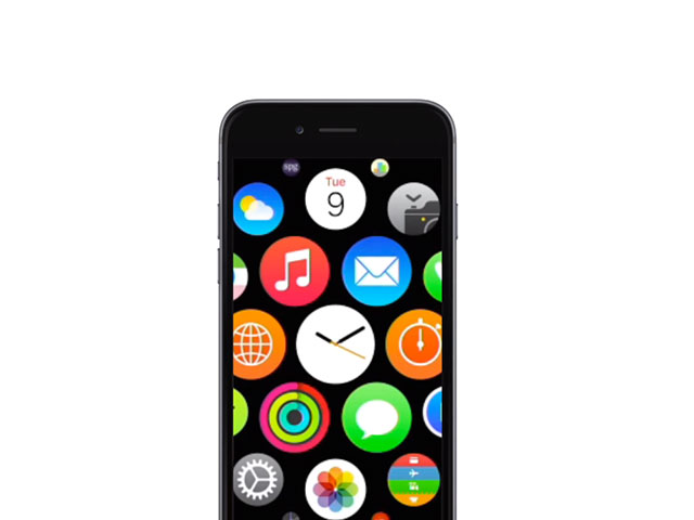 Concept Watch OS iPhone 6