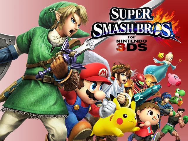 Démo de Super Smash Bros. 3DS