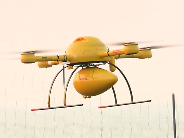 Les drones de DHL
