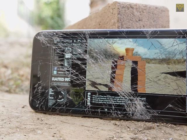 Drop test iPhone 6 Plus