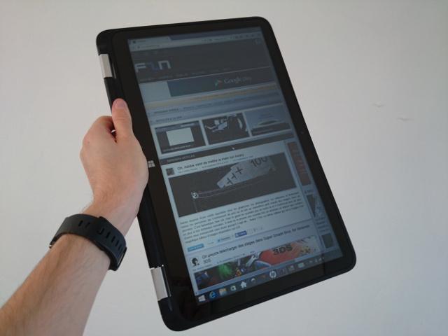 HP Envy x360 en mode tablette