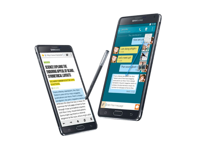 #IntersticeGate Samsung Galaxy Note 4 part 2