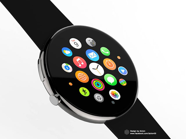 Apple Watch ronde : image 1