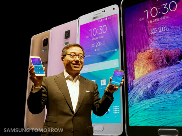 Lancement Galaxy Note 4 Europe