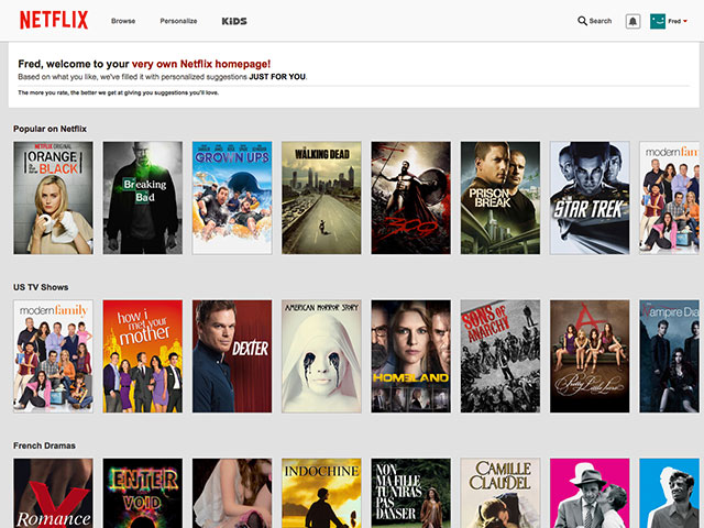 Netflix : capture 1