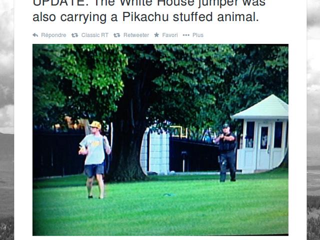 Pikachu à la Maison Blanche