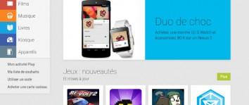 Une promotion pour la LG G Watch et le Nexus 5