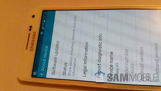 Photo Samsung Galaxy A5 : image 5