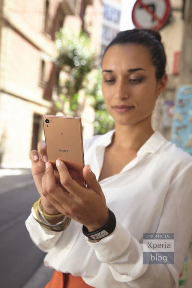 Photos presse Sony Xperia Z3 : image 1