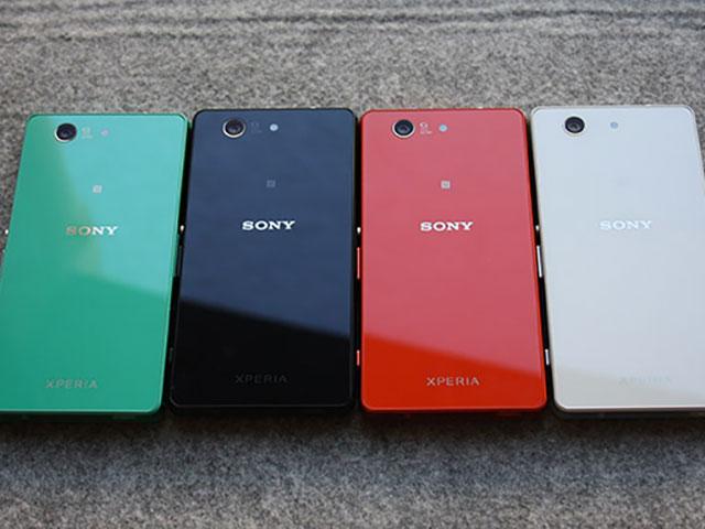 Sony Xperia Z3 Compact : photo volée 2