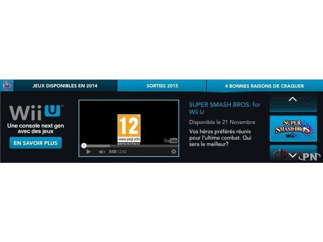 Super Smash Bros. Wii U pour le 21 novembre
