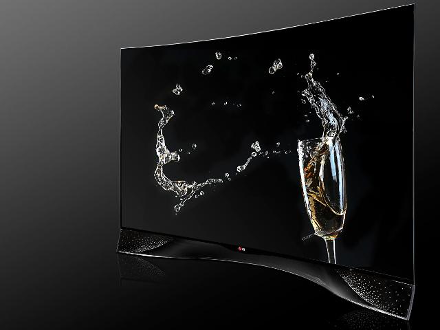 Le téléviseur de LG et Swarovski