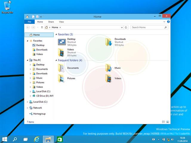 Windows 9 : capture 2