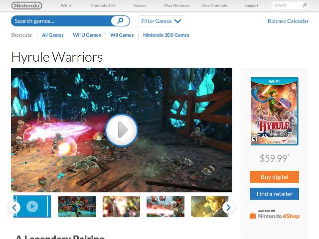 Achat d'un jeu Nintendo en ligne