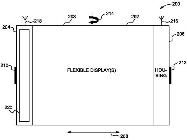 Apple et son écran pliable