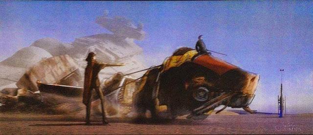 Artworks Star Wars Episode VII : image 18