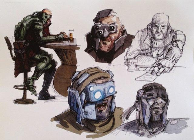 Artworks Star Wars Episode VII : image 19