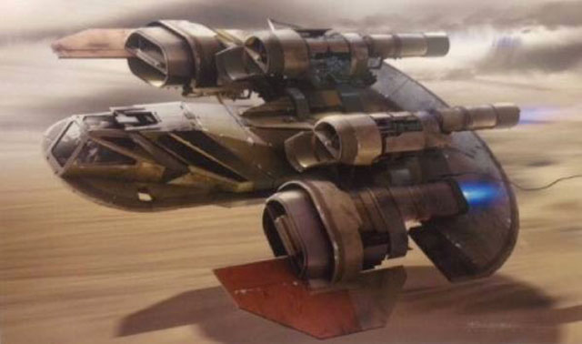 Artworks Star Wars Episode VII : image 8