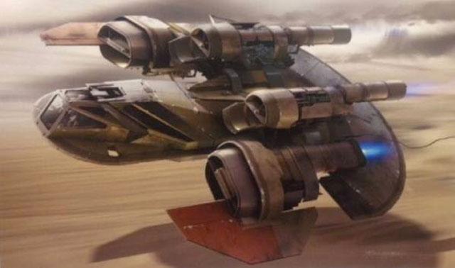 Artworks Star Wars Episode VII : image 8