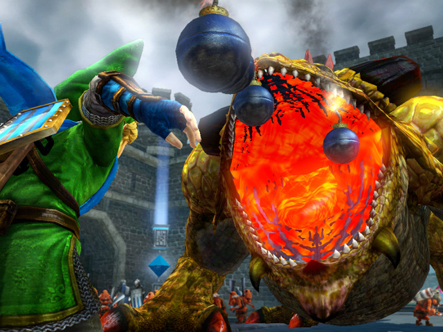 Bombes d'Hyrule Warriors