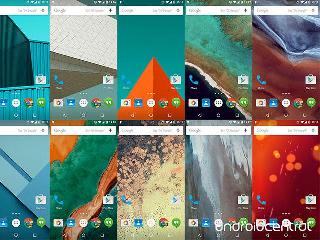 Captures Android 5.0 Lollipop