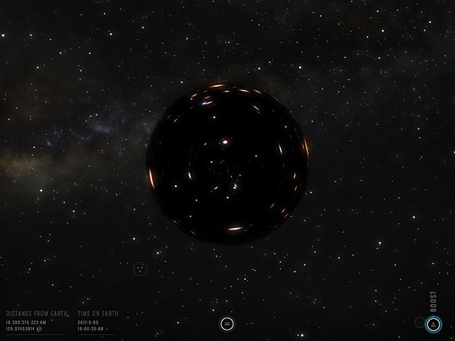 Chrome Experiment Interstellar 2