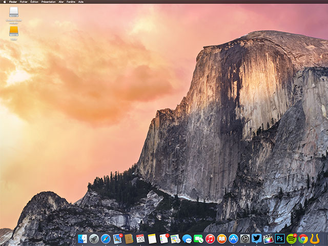 Raccourci Dark Mode OS X Yosemite
