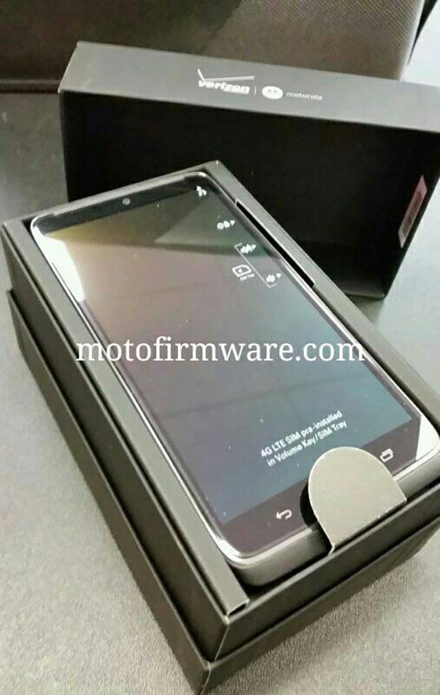 Photos boite Motorola Droid Turbo 1