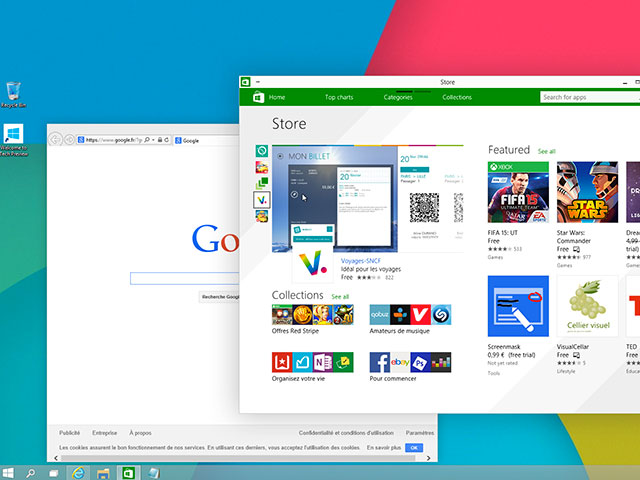 Chiffres Windows 10