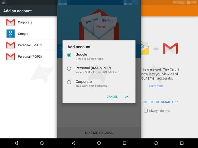 Gmail et vos e-mails