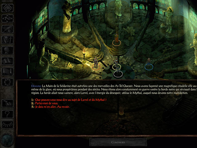 Icewind Dale Android : capture 3