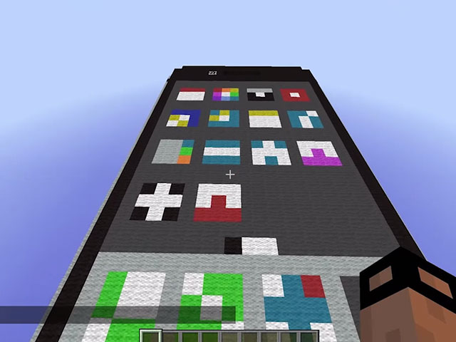 iPhone Minecraft