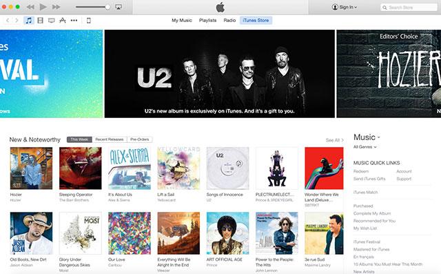 iTunes 12 : capture 2