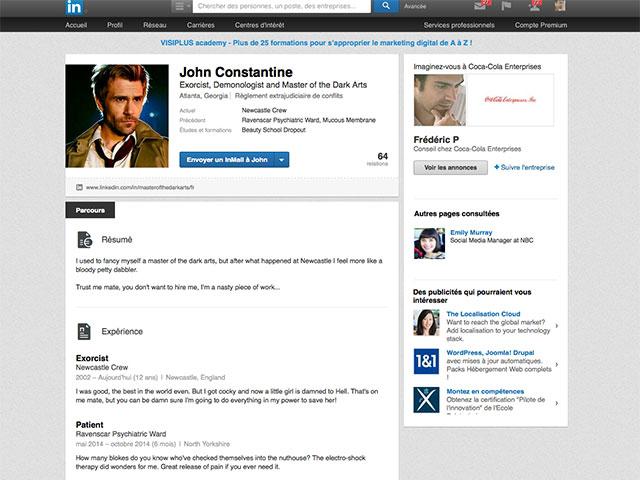 John Constantine Linkedin