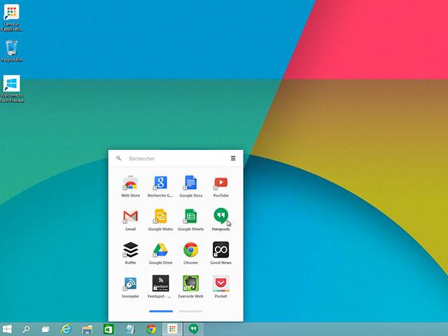 Lancer Hangouts sur Chrome