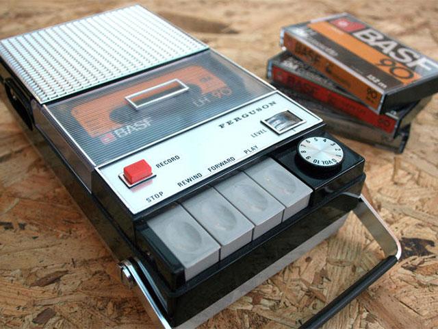 Lecteur cassette Spotify