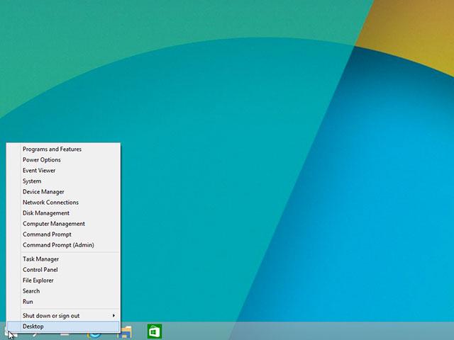Menu démarrer Windows 10 : capture 5