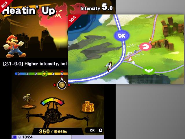 Le mode solo de Super Smash Bros. for Nintendo 3DS